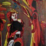 La mia mostra è dedicata al Sommo Poeta Dante Alighieri, in occasione del settimo centenario dalla morte.