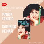 """Marisa Laurito presenta la sua autobiografia """"Una vita scapricciata"""" (Rizzoli) Venerdì 23 aprile, ore 18.30, in diretta sulla pagina Facebook laFeltrinelli Librerie"""